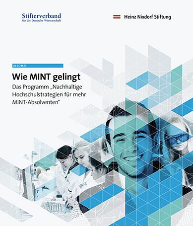 "Cover ""Wie MINT gelingt"""
