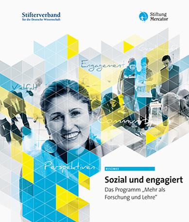 """Cover """"Sozial und engagiert"""""""