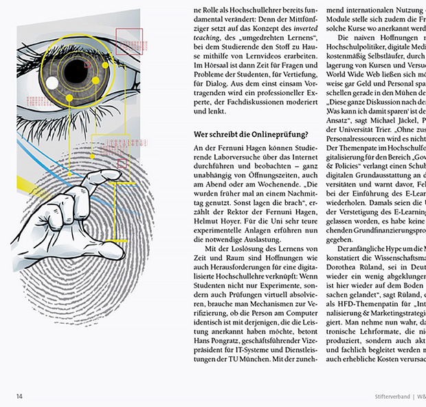 redaktionelle Illustration S14