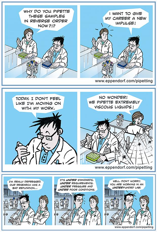 Die ersten drei Comicstrips / the first three comic strips