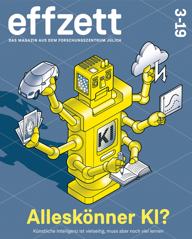Cover-Illustration effzett 3/19